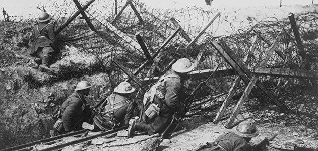 Στο πεδίο της μάχης. Συρματοπλέγματα στον Πρώτο Παγκόσμιο Πόλεμο. Πηγή: www.militaryhistorynow.com / Barbed Wire War.