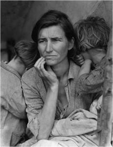 Migrant mother Η εμβληματική φωτογραφία από την Ντοροθέα Λαγκ που σημάδεψε μια ολόκληρη εποχή.