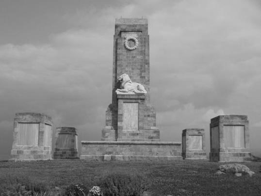 Συμμαχικό νεκροταφείο Λίμνης Δοϊράνης. Πηγή: Υπηρεσία μνημείων-κοιμητηρίων βρετανικής κοινοπολιτείας.