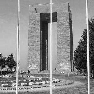 Η μεγάλη κατασκευή στη μνήμη των Οθωμανών πεσόντων στην Καλλίπολη.
