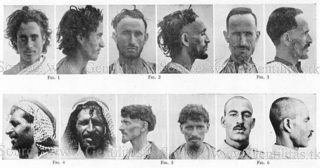 Φυλές της Μεσογείου (πηγή: https://www.humanbiologicaldiversity.com/Race_Face_Plates.htm )