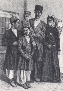 Οικογένεια Αρμενίων στην Ανατολία τον 19ο αιώνα.