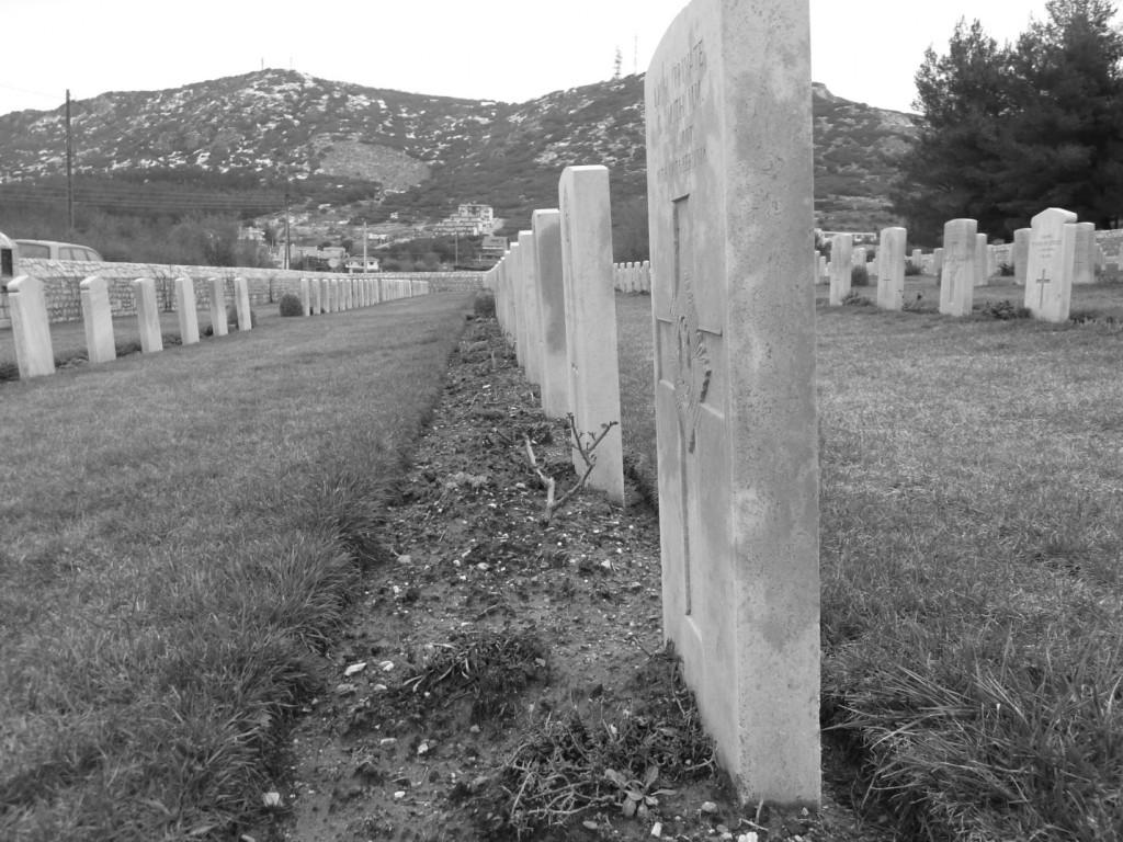 Βρετανικό συμμαχικό κοιμητήριο στην Εξοχή Θεσσαλονίκης. Φωτογραφία: Α. Μπουρούτης.